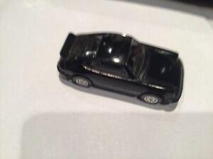Corgi Porsche 911 Carrera Car Black Made in Gt.Britain 1:64 Scale