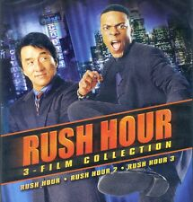 Rush Hour 1-3 1 2 3 Collection PG-13 action comedy movies, new DVD Jackie Chan,