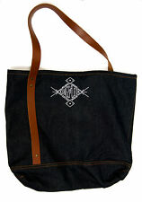 VIP Tote Bag Kings of Leon - from Mechanical Bull Tour- Denim/leather