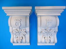 Pair of Corbels - Quality Strong Resin - Not Polystyrene  - 172 x 275 x 112mm