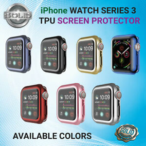 Apple Watch 1 2 and 3 Full Protective Case Screen Protector Cover iWatch 38/42mm