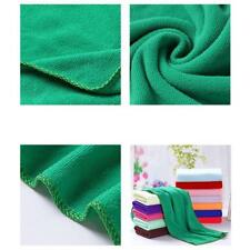 Green Microfiber Cleaning Auto Car Detailing Soft Cloths Wash Towel Duste.US