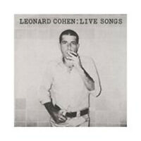 Leonard Cohen - Live Songs Nuovo CD
