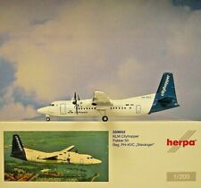 Herpa Wings 1:200  Fokker 50  KLM Cityhopper PH-KVC  559652