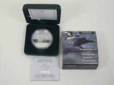 2002 Canada $5 Fine Silver Coin Loon Hologram .9999 1oz