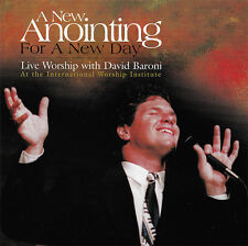 David Baroni - A New Anointing For A New Day! CD 1999 Kingdom Songs ** RARE **