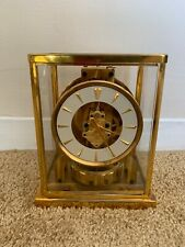Rare 1950's Model 526-5 Jaeger LeCoultre Atmos Mantle Clock Serial #84891, Ex Cd