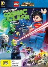 Lego  Justice League:Cosmic Clash DVD NEW Region 4