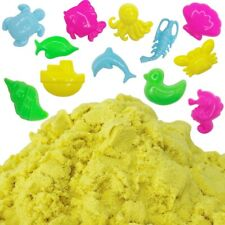 Just Artifacts 1lb Sensory Play Sand with 12 Aquatic Creature Molds