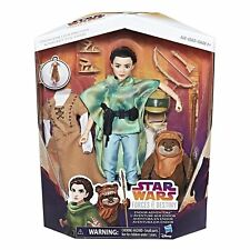 "Star Wars Forces of Destiny ~ 11"" ENDOR LEIA & WICKET ADVENTURE PLAY SET"