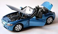 BMW Z4 E85 2005-08 Blue Metallic 1:24