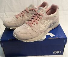 Mens Size 9 ASICS GEL LYTE V BIRCH Beige SUEDE RUNNING SHOES H739L 0202 NIB Lite
