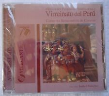 Musica Del Pasado de America Vol 2 Virreinato del Peru Music CD Brand New Sealed