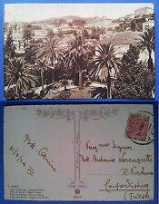 San Remo - Ville ed Alberghi - Regione Berigo, viaggiata 1929