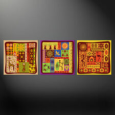 AFRICAN ART SPLIT CANVAS WALL ART PICTURES PRINTS 3 PANELS FREE UK POSTAGE