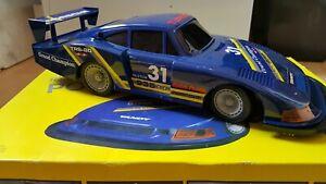 Rare Rc LARGE Porsche 935  ( FANTASTIC)   by Radio Shack RC Retro Vintage