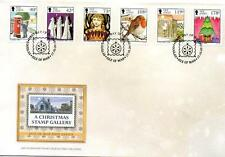 First Day of Issue Seasonal, Christmas British Stamps