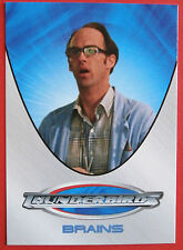 THUNDERBIRDS (The 2004 Movie) - Card#10 - Brains - Cards Inc 2004