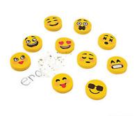 Pack of 20 - Emoji Smiley Erasers - Teacher Rewards