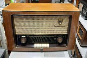 Grundig 3010 Röhrenradio Radio Holzgehäuse 50er J.