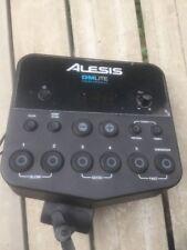 Free P&P. An Alesis DM Lite Brain Module w Clamp  For Electronic Drum Kit