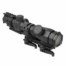 NcSTAR OCTAGON SERIES 1.1-4x20 SCOPE/ P4 SNIPER/ AND VISM VMSPRB MOUNT COMBO