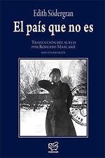 EL PAIS QUE NO ES. NUEVO. Nacional URGENTE/Internac. económico. POESIA