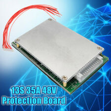 35A BMS PCB Board PCM Protection Board w/ Balance For e-bike Li-ion Battery 13S