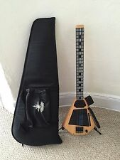 Starr Labs Ztar MIDI Guitar - old school wood, with case and midi interface