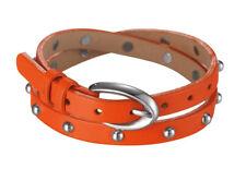 Esprit Damen Armband Rock Rio Caribian Coral ESBR11335F380  Edelstahl,Leder