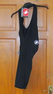 NEW WITH SMALL DEFECT CASTELLI MEN'S 3/4 LENGTH BIB-TIGHTS OR KNICKS. SIZE XL