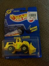 Mattel Hot Wheels, Blue Card no.- 3: Wheel Loader: mpn no.- 1173