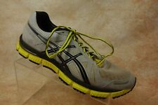 Asics Gel-Neo 33 Gray/Yellow Athletic Running Sneakers Shoes Mens Size 10 US