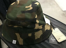 Herschel Supply Co Mens Lake Reversible Bucket Hat Blue and Camo S/M size
