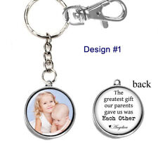 Personalized Photo Keychain Double-Sided (2 sides) for Brother