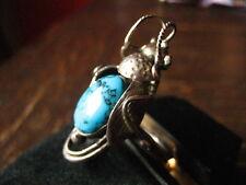 Chicharra turquesa insecto ring 925er plata indios native Zuni indios joyas g 61