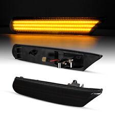 LED Seitenblinker Schwarz Kompatibel für Porsche 911 996 + Boxster 986 97-05