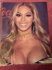 Beyonce Autographed Color Photo W/COA