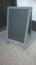 Premium Quality Grey Wooden A Board - Blackboard - Pavement Sign - 70 x 40cm