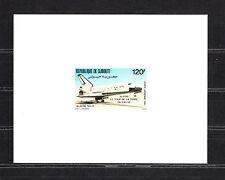 épreuve de luxe  Djibouti  navette spaciale  atterrissage   1981   num: PA 156