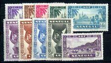 SENEGAL 1939 Yvert 160-169 ** meist POSTFRISCH TADELLOS SATZ (F4106