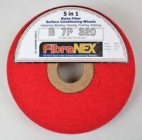 1x FibraNEX Polierscheibe für Kupfer und Messing 7P - 320 aus Nylonfaser - 25