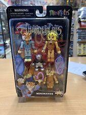Thundercats Minimates Icon Heroes Unused MOC Wilykat Wilykit Tygra Cheetara