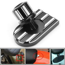 Motorcycle Seat Bolt Tab Screw Mount Knob Cover Kit Fits For Harley Touring NEW