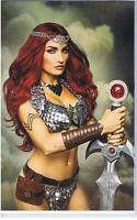 Dynamite Red Sonja #3 Cover F 1:10 Variant Cosplay Virgin Incv