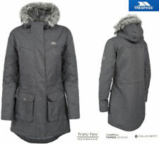 Abrigos y chaquetas de mujer Parka color principal gris de poliéster