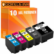 10 Patronen XXL für Epson 202 XL Expression Premium XP-6100 Series XP-6105