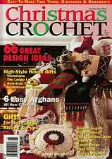 ~ ~ ~ CHRISTMAS CROCHET ~ 1996 ~ 66 EXCELLENT PATTERNS ~ ~ ~