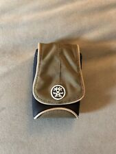 Crumpler Thirsty AL XL Accessory Pouch -Olive & Black- Camera Storage Phone Case