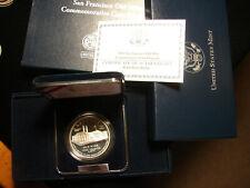 2006-S Proof San Francisco Mint Centennial Commem Silver Dollar, as pictured.
